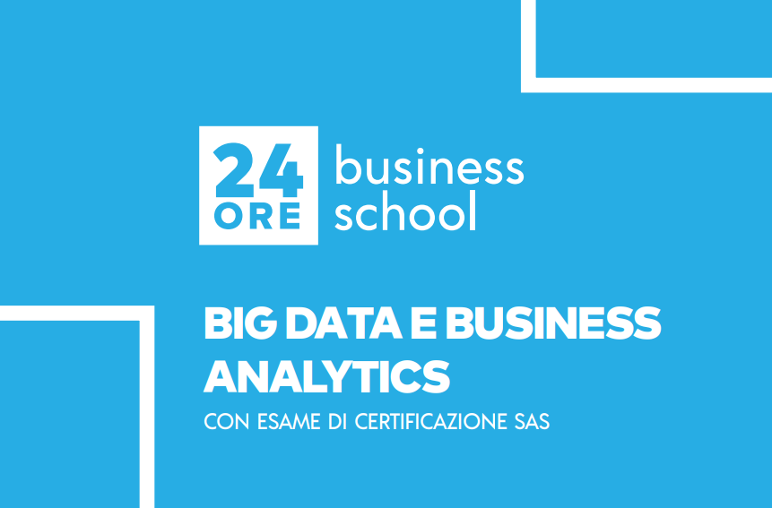 Sabato 24 aprile HUDI sarà presente al Master 'Big Data e Business Analytics' sponsorizzato da 24 Ore Business School.